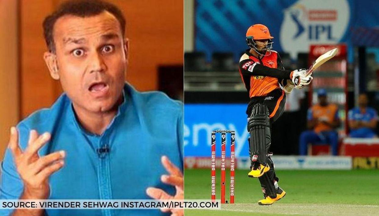 'Dr.' Virender Sehwag credits himself for Wriddhiman Saha's selection in Hyderabad team