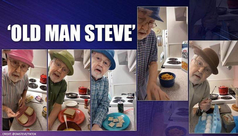 81-year-old man becomes internet sensation with his cooking videos