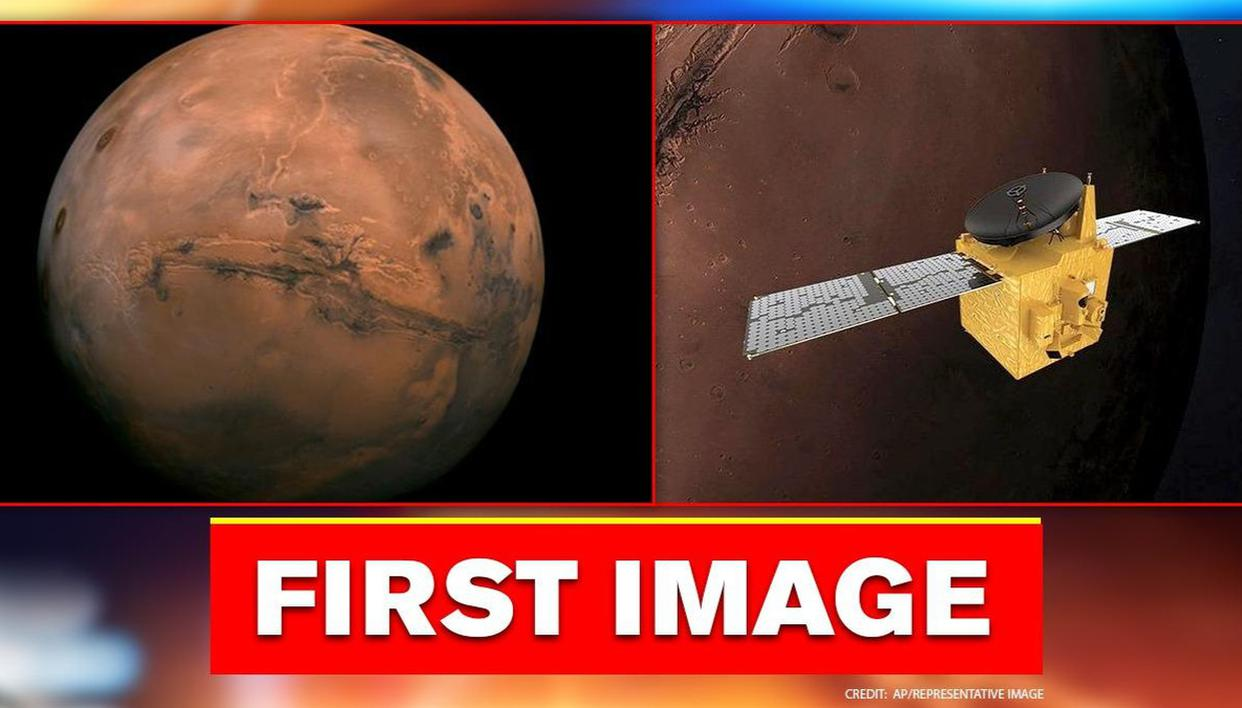 UAE's Hope captures first image of Mars after travelling one million km into space