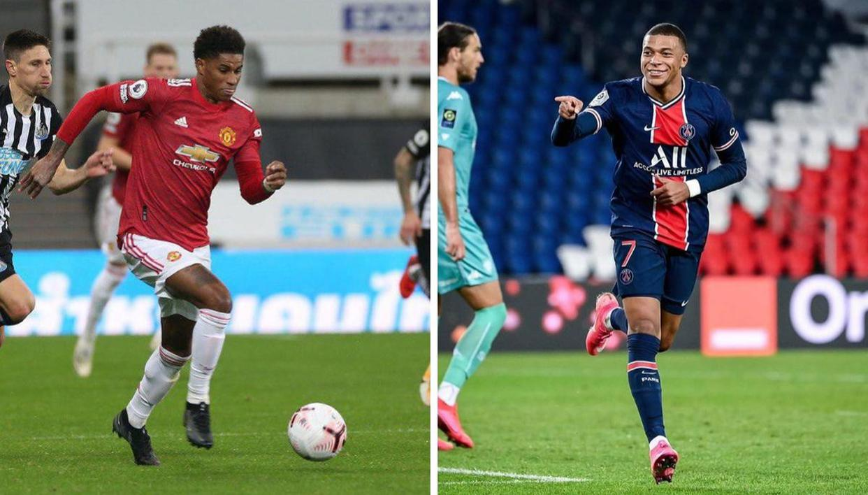 Kylian Mbappe Praises Marcus Rashford For Fight Against Child Poverty Ahead Of Ucl Clash Republic World