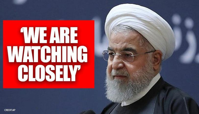 Iranian president says Tehran closely follows US but won't start conflict