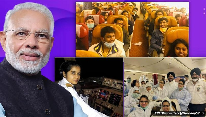 PM Modi hails Air India crew as they airlift 263 Indians stranded in Rome amid COVID-19