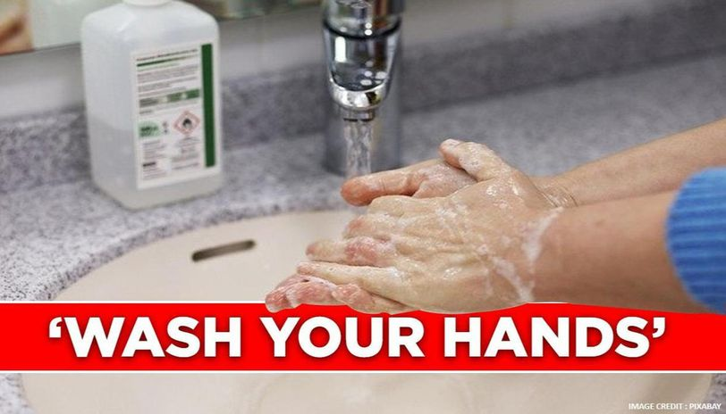 Virus fear makes doctor wash hands several times, watch video