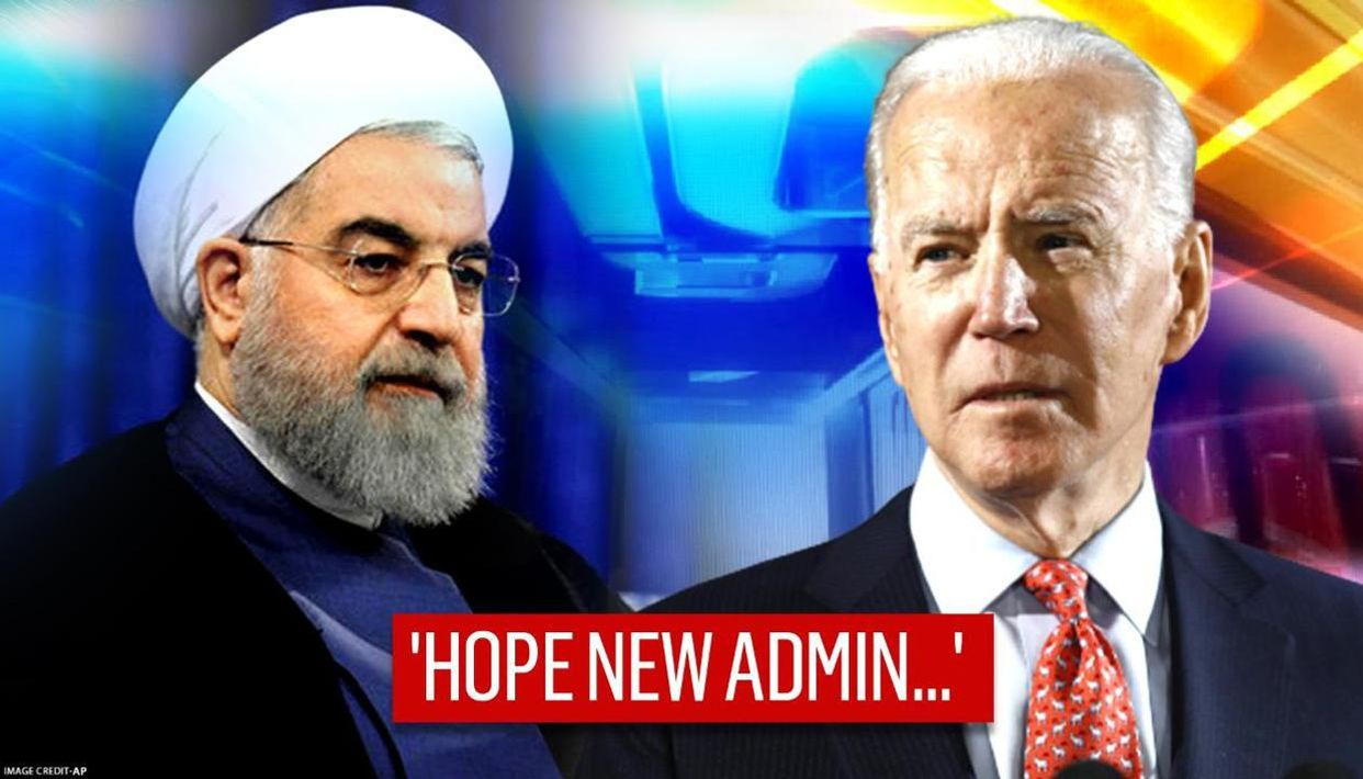 Iran's President Hassan Rouhani hopes for better ties with Joe Biden's  administration