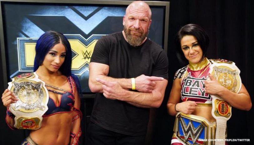 Bayley & Sasha Banks Challenge Trish Stratus & Lita At WWE Summerslam 2020 1