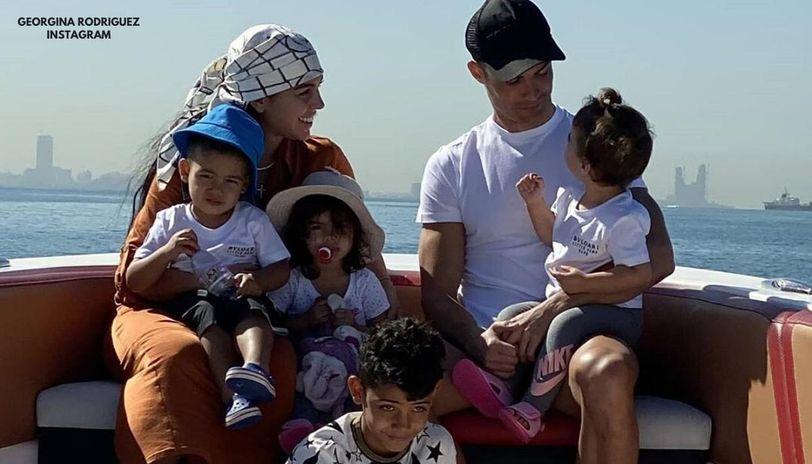 Georgina Rodriguez Posts Heartfelt Message For Partner Cristiano Ronaldo On Father S Day Republic World