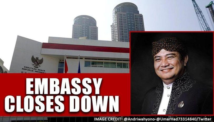 Indonesia: Ambassador announces the closure of the  Embassy in Seoul