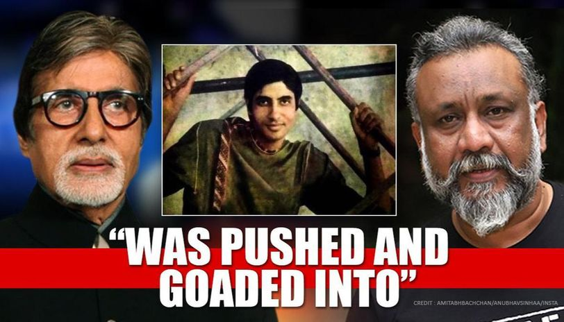 Amitabh Bachchan has sweet anecdote of 1st photoshoot, Anubhav Sinha points out 'beimaani'