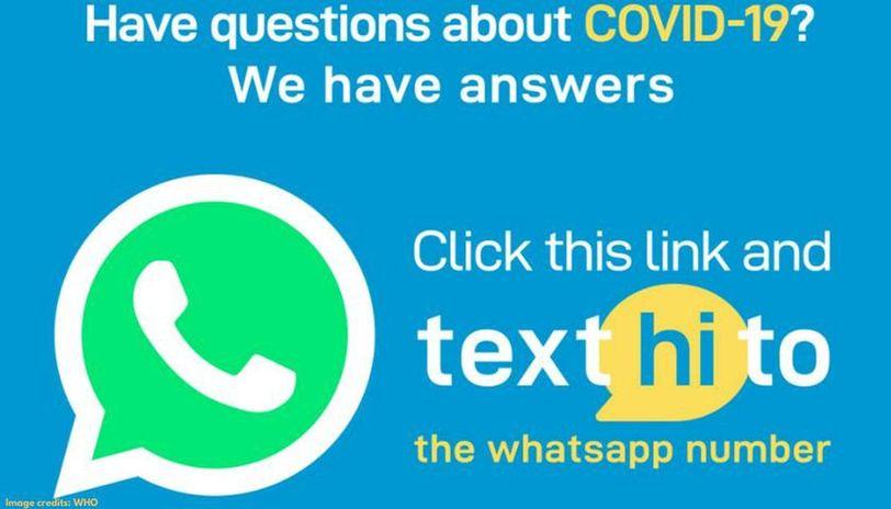 WHO Coronavirus WhatsApp number
