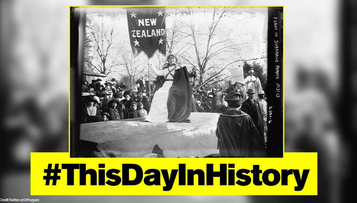 New Zealand became world's 1st country to grant voting rights to women on this day in 1893 - Republic World