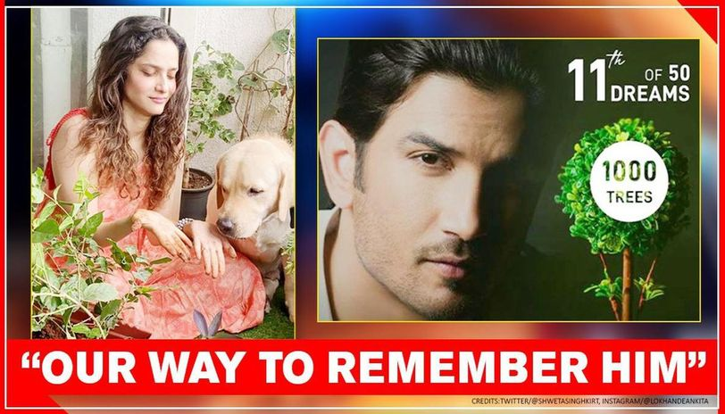 Ankita Lokhande joins Sushant's fans in #Plant4SSR initiative with 'partner', pens note