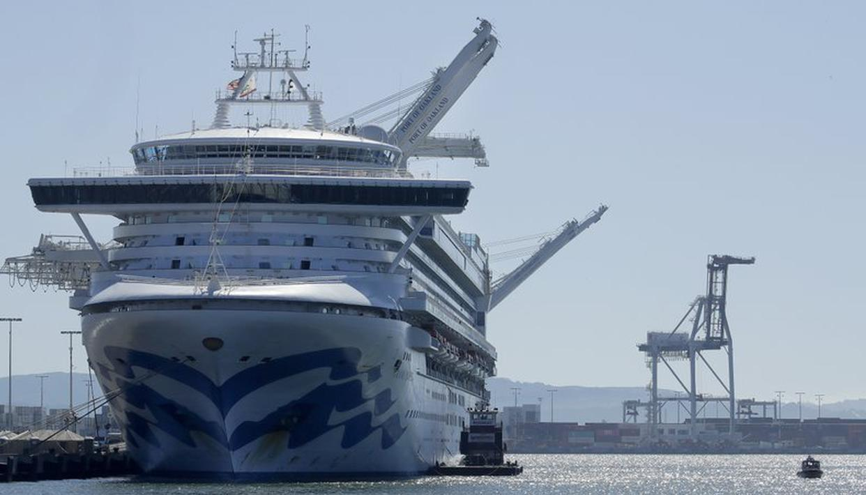 Despite no reported coronavirus, Hawaii won't let cruise ship passengers disembark