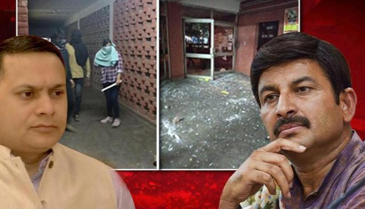 Aishe Ghosh, 19 others named in FIR in JNU violence case