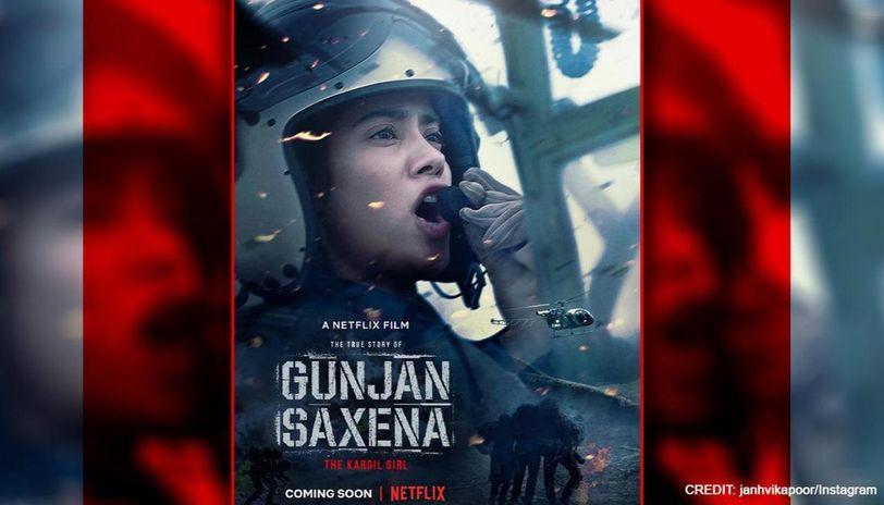 Gunjan Saxena The Kargil Girl Set To Premiere On Netflix Janhvi Kapoor Shares Teaser Republic World