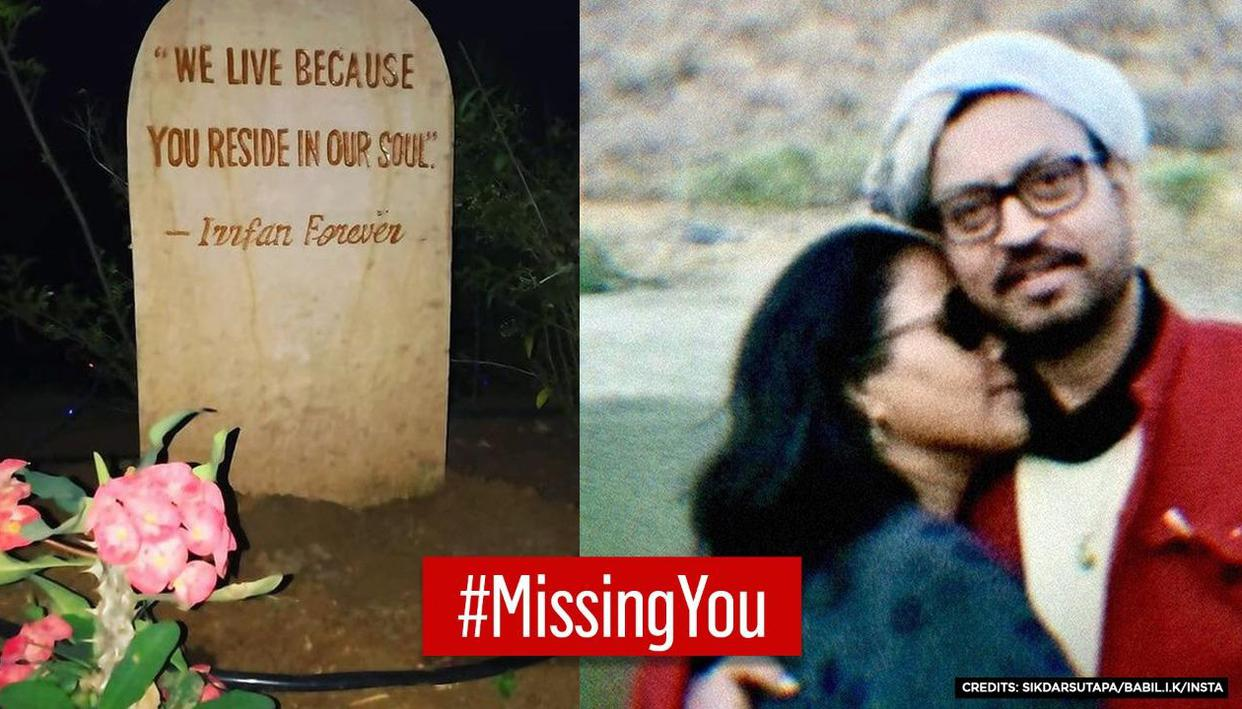 Sutapa Sikdar remembers Irrfan Khan on Valentines Day, shares memory stone from Igatpuri - Republic TV