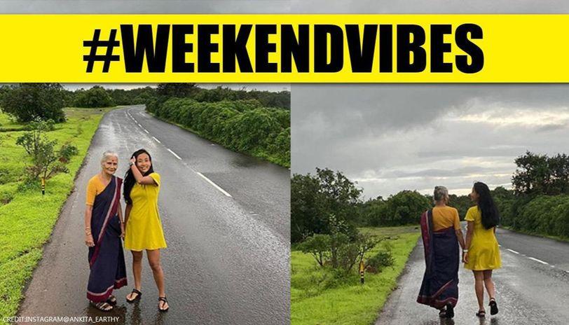 Ankita Konwar's Instagram post with Usha Soman