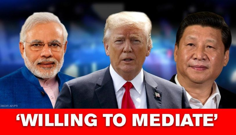 Trump Promises India China Peaceful Relation