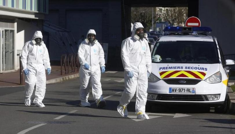 France reports highest COVID-19 casualty toll in single day, brings total to 8,911