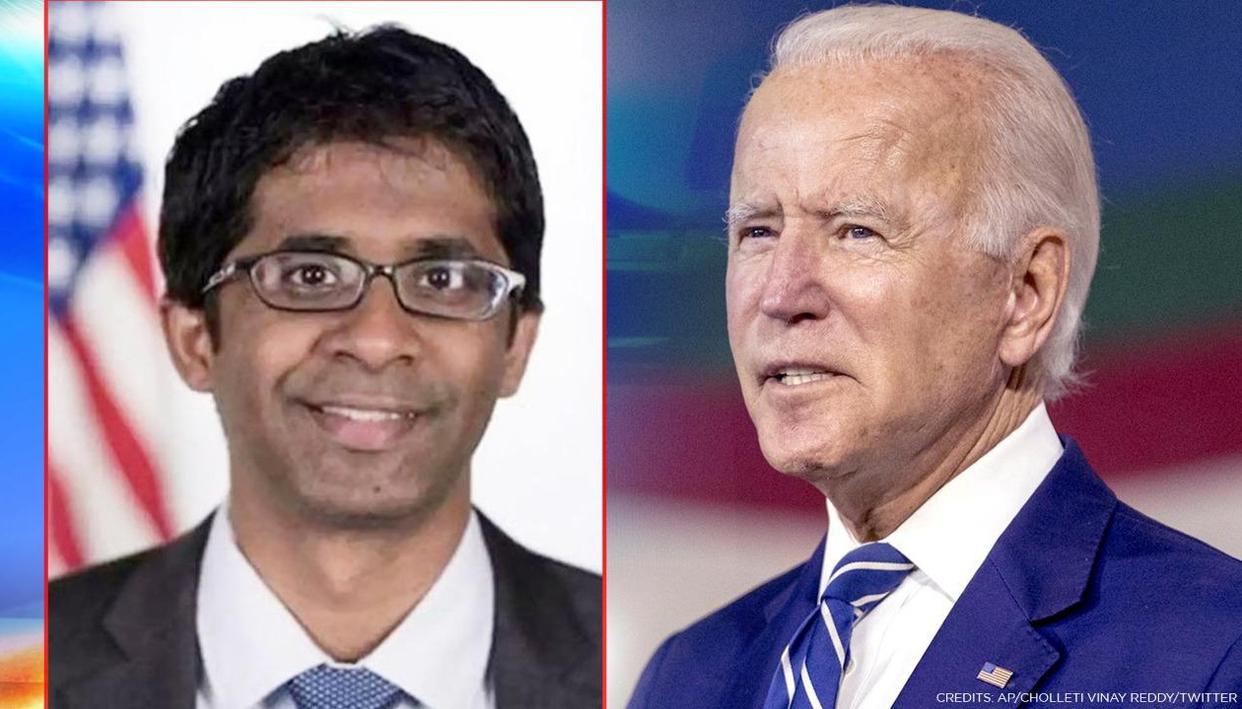 Joe Biden's speechwriter Vinay Reddy has roots in Telangana; all that you need to know