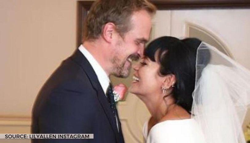 lily Allen's wedding