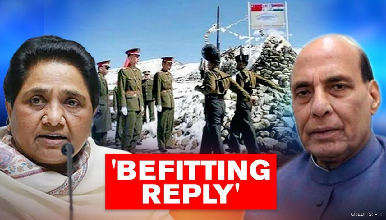 Mayawati backs Centre & Army amid LAC tensions, says 'Will give befitting reply to China' - Republic World