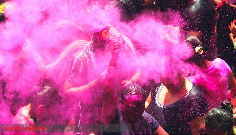 holi celebration in chennai