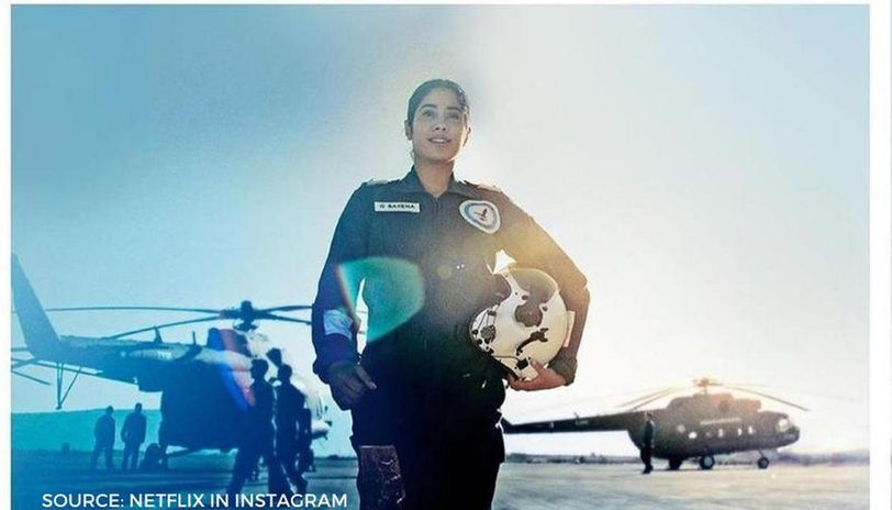 Gunjan Saxena Movie Netflix Recreates Stills From The Kargil Girl S Real Life Republic World