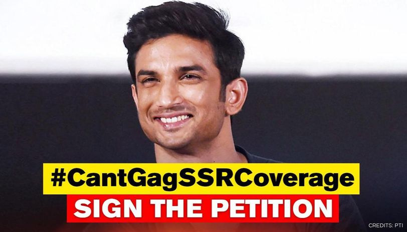 Sushant Death Case Sign The Cantgagssrcoverage Petition Here S How Republic World