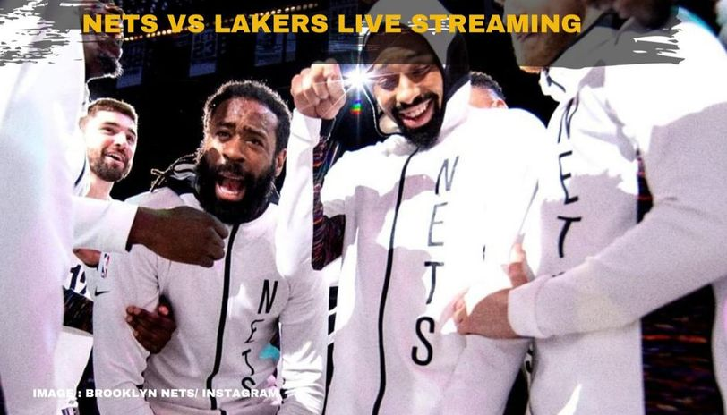 Nets vs Lakers live streaming