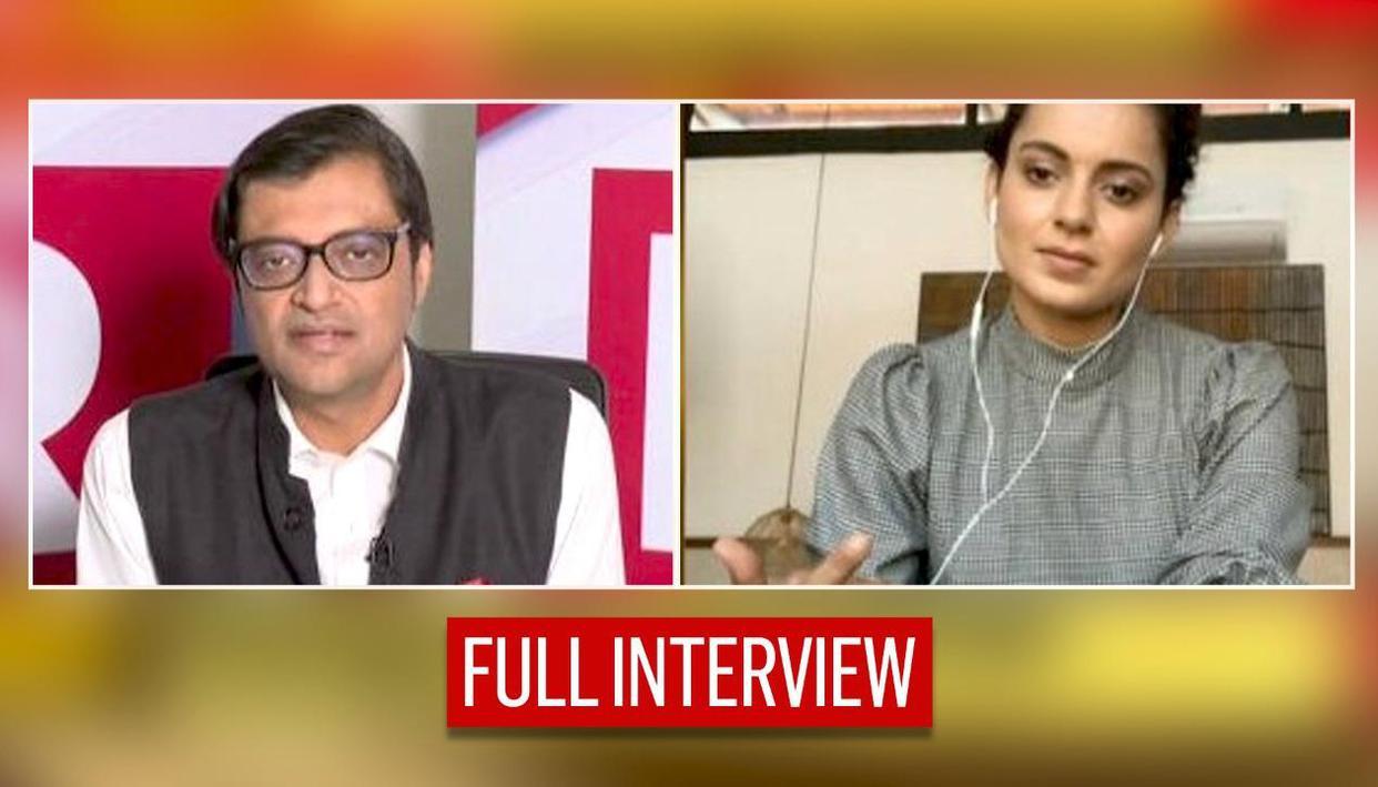 Kangana Ranaut speaks to Arnab Goswami on global conspiracy to target India amid farm stir - Republic TV
