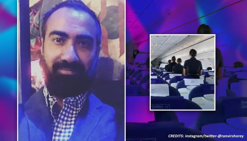 Ranvir Shorey was on flight during tribute for COVID-19 warriors, watch what happened