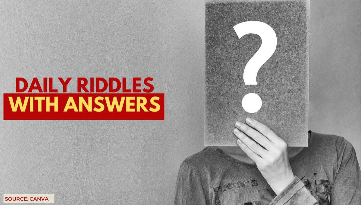 11 Riddles With Answers Explained: Daily Kids & Adults Picture Puzzle For Today May 24 - Republic World