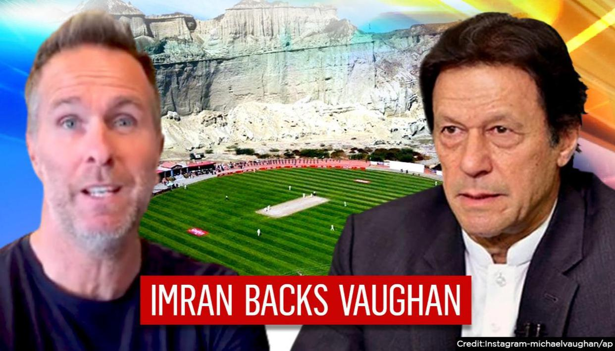 Pakistan attacks Indias win over England; Imran Khans PTI endorses Vaughans pitch jibe - Republic TV