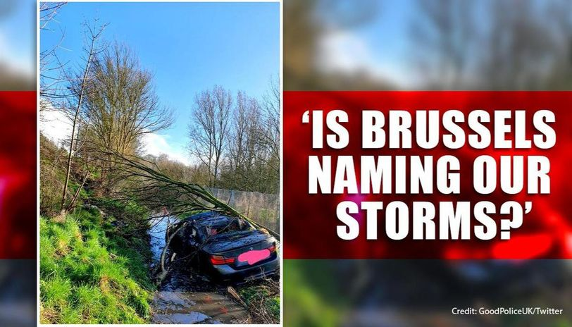 'What's wrong with John?': Brexiteers demand more British name for storm Jorge