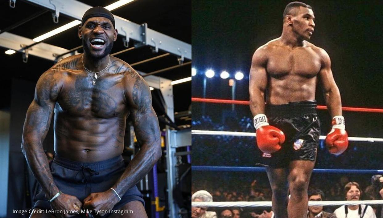Mike Tyson Fans Livid After Tweet Hints Lebron James Would Knock Out Iron In His Prime