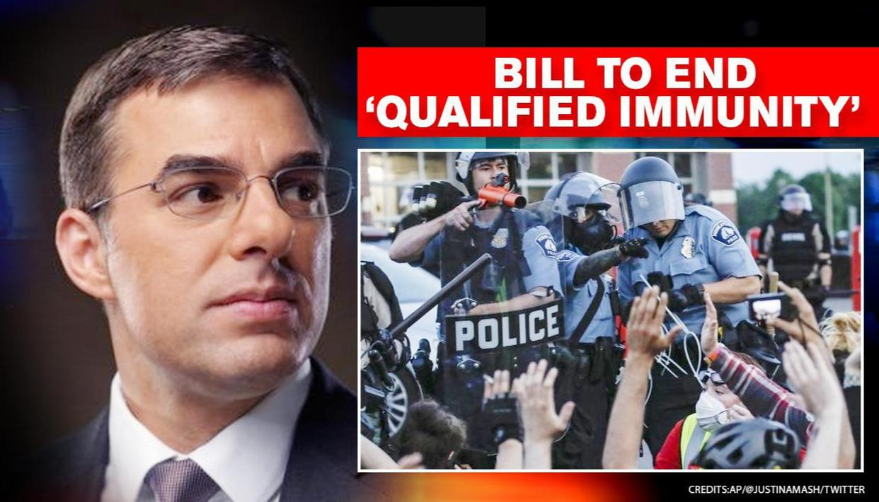 US lawmaker Justin Amash drafts tri partisan bill to end 'Qualified Immunity' for police - Republic World