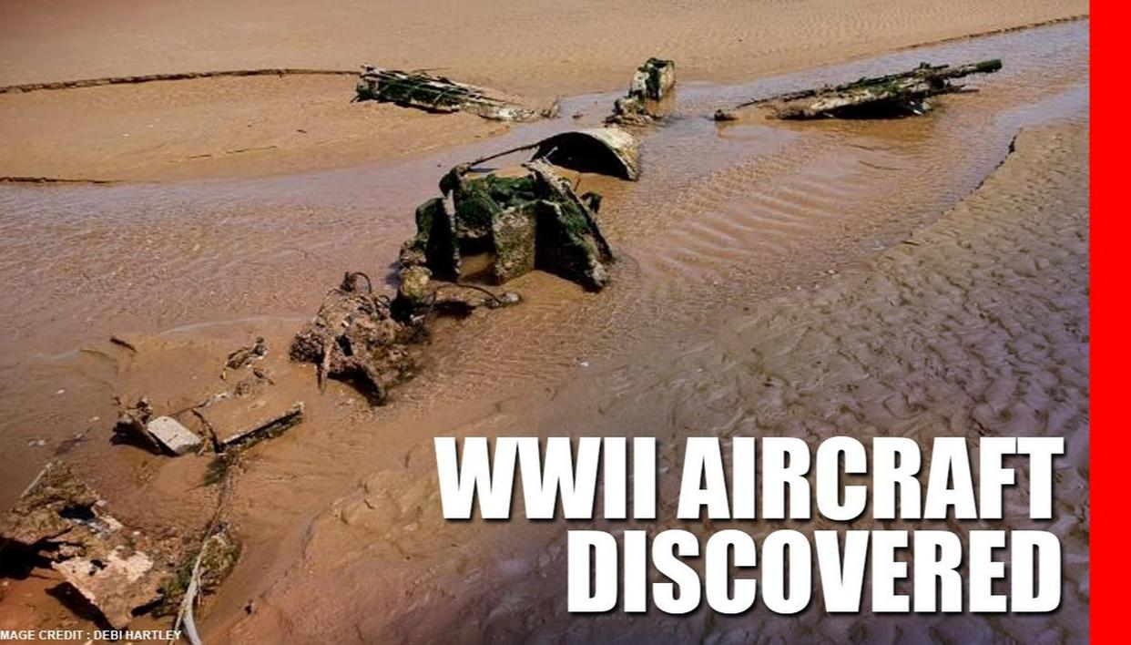 World War-II aircraft discovered by British couple on a beach in England, after 76 years - Republic World