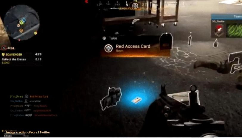 Red Access Card in COD Warzone