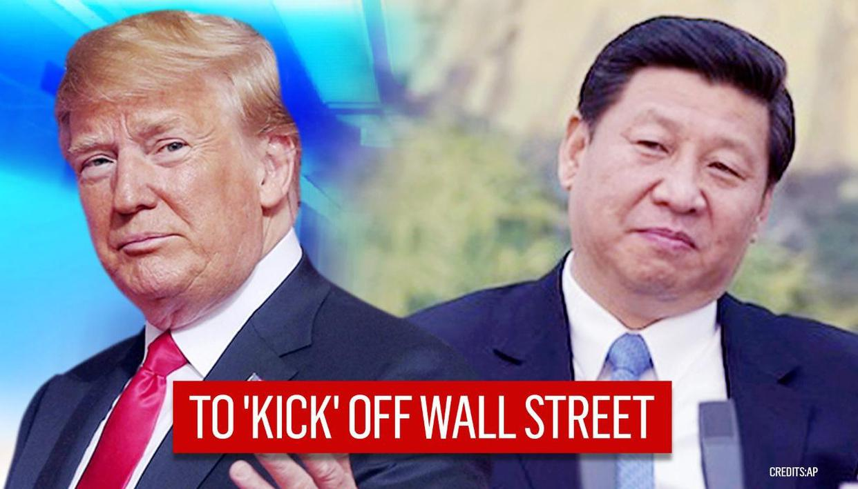 US Senate approves legislation to 'kick' China off Wall Street; awaits Trump's nod