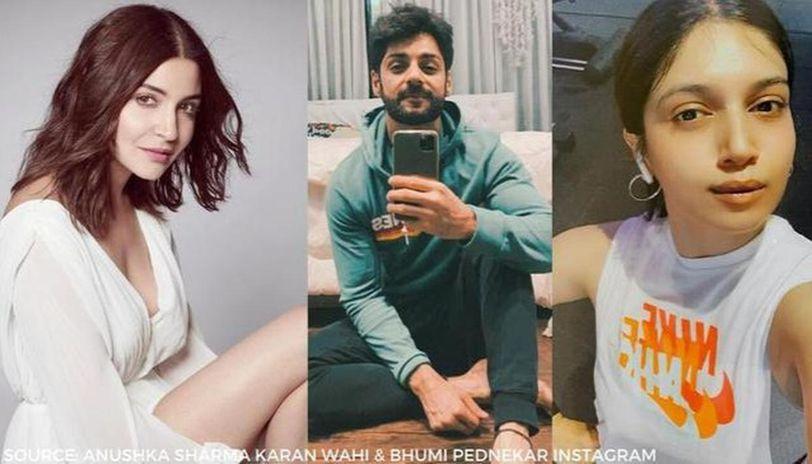 anushka sharma Karan wahi & Bhumi Pednekar