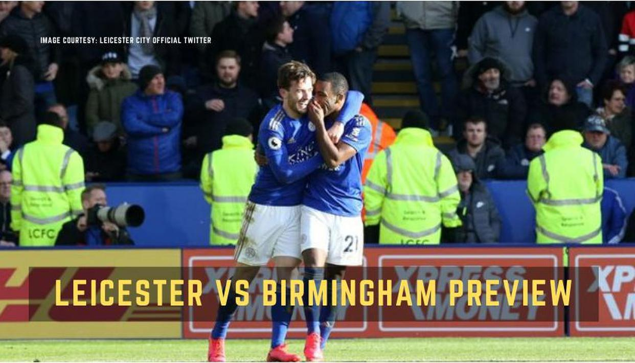 Rare Ricardo Pereira header helps Leicester City see off spirited Birmingham City