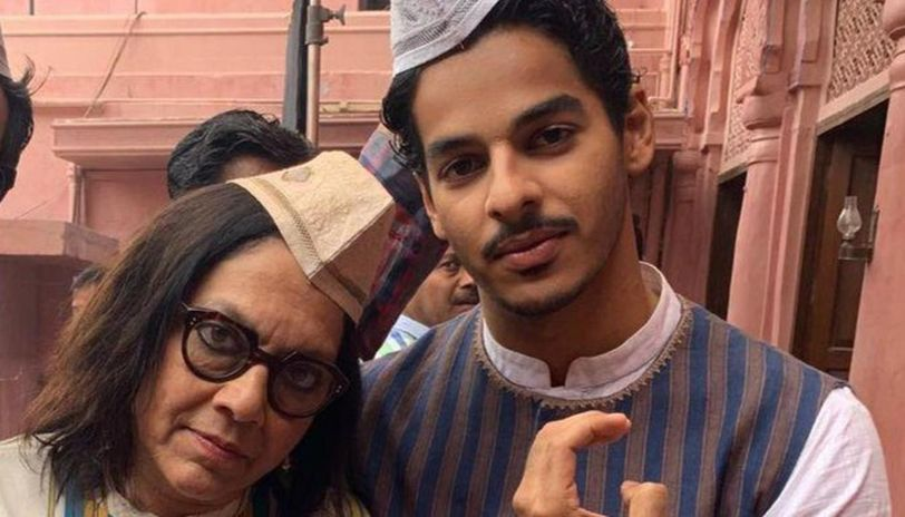Ishaan Khatter pens birthday wish for director Mira Nair, says 'you have lust for life'