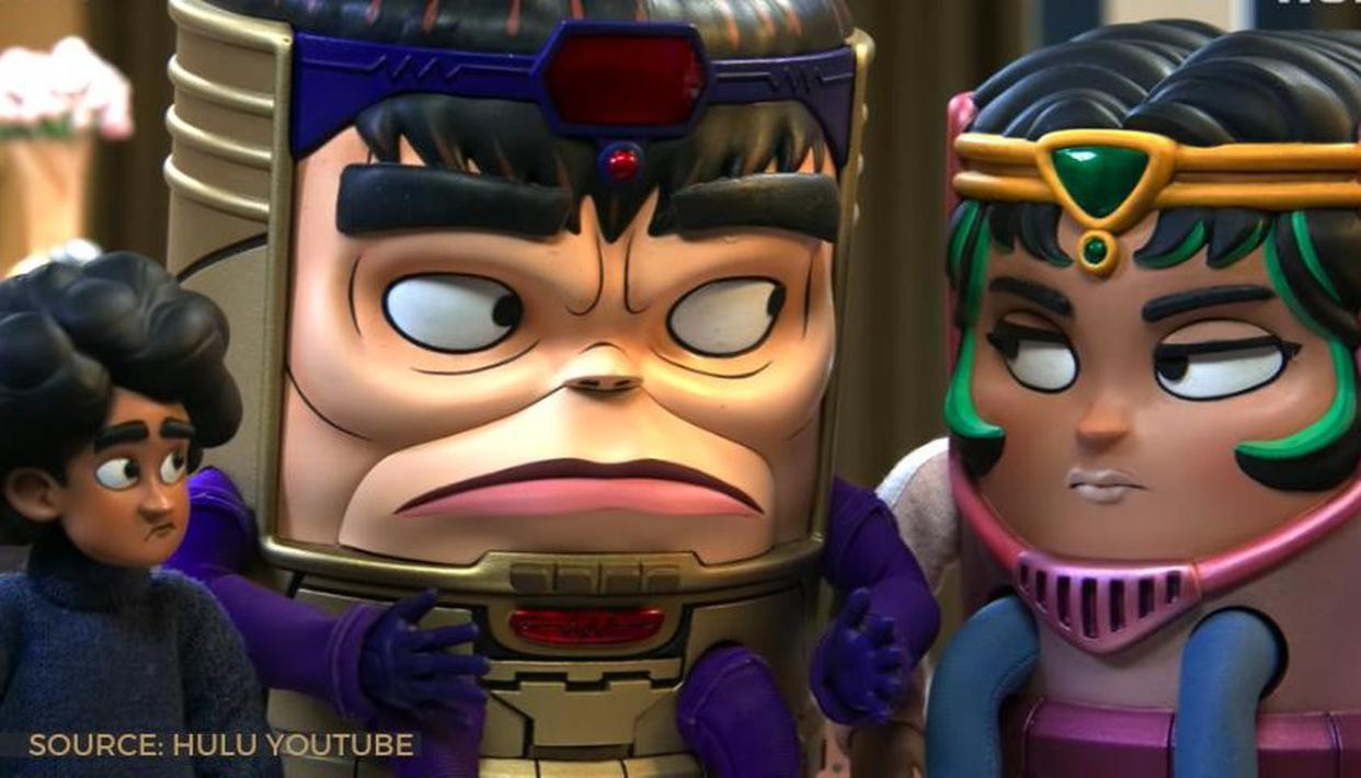 The MODOK trailer shows Marvel's supervillain struggle with family and work;  WATCH