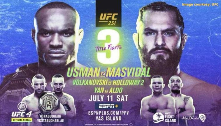 Ufc 251 Weigh In Results Complete Fight Card Ufc Fight Island Schedule Details