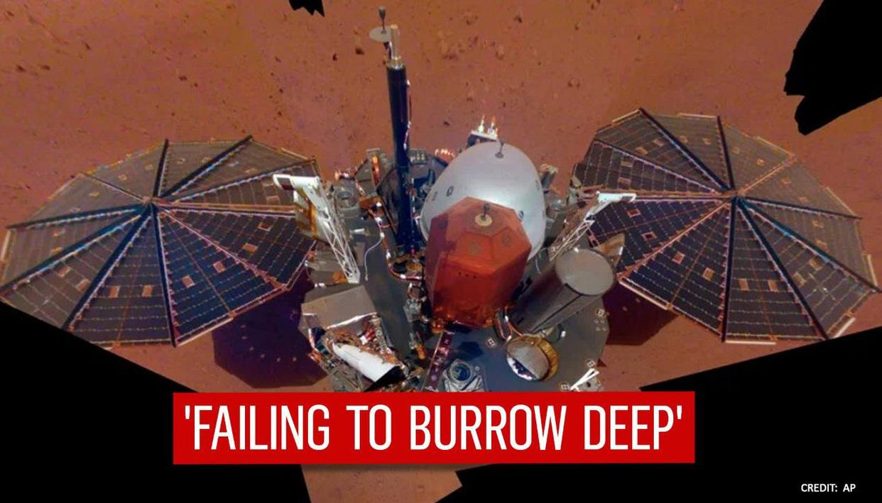 NASA declares Insight 'mole' probe defunct after it fails to burrow Mars 'deep enough'