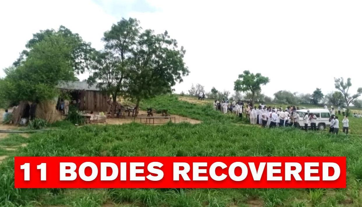 11 dead bodies recovered from a farmer's field at Jodhpur; probe ongoing - Republic World