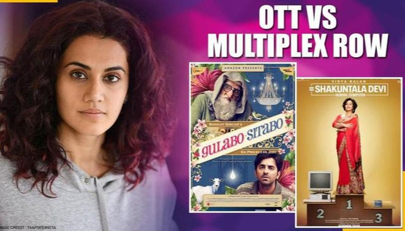 Taapsee Pannu reacts to controversy over multiplexes' disappointment on films OTT release