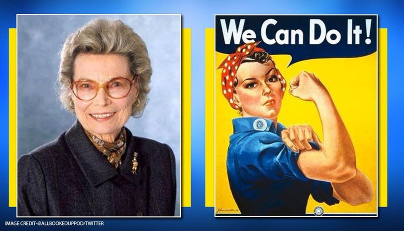 Woman who inspired iconic 'Rosie the Riveter' song and poster dies