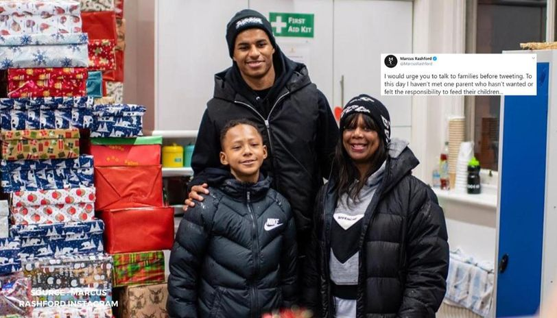 Marcus Rashford Slams British Mp For Suggesting It S A Parent S Job To Feed Their Child