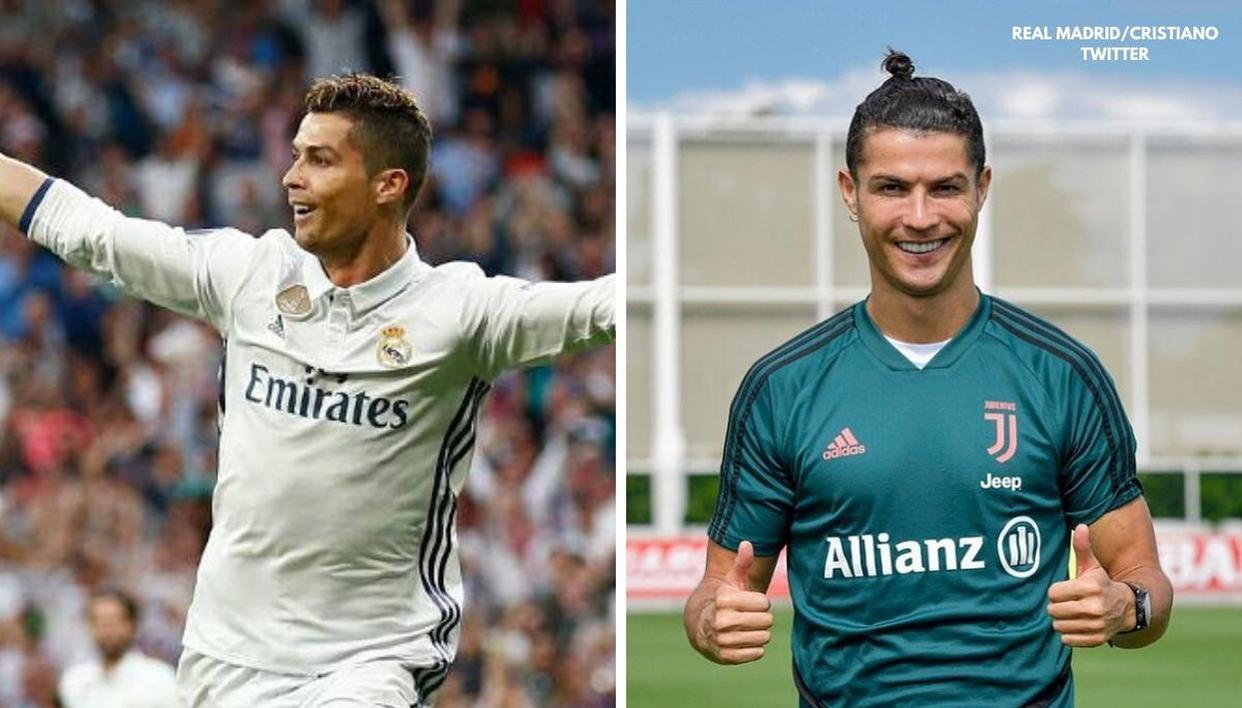 Cristiano Ronaldo S Range Of Hairstyles Over The Years As He Embraces A Top Knot Republic World